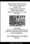Pronosticacion nueva para 1562 de Nostradamus