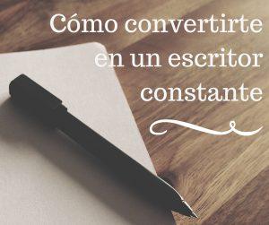 Cómo convertirte en un escritor constante - bubok Mexico