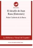 El desafío de Juan Rana [Entremés]