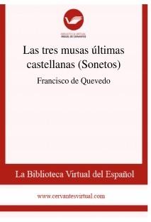 Las tres musas últimas castellanas (Sonetos)