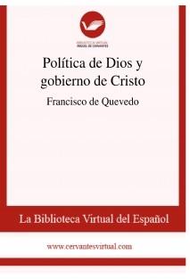 Política de Dios y gobierno de Cristo
