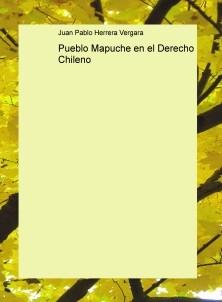 Pueblo Mapuche en el Derecho Chileno