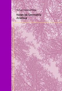 Notas de Geometría Analítica