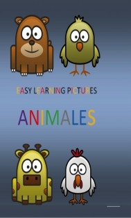 EASY LEARNING PICTURES. ANIMALES.