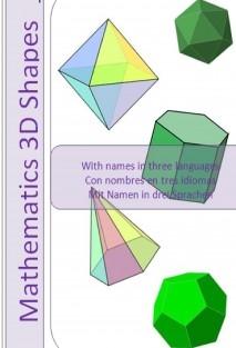 Cut&Paste 3D Mathematical Shapes