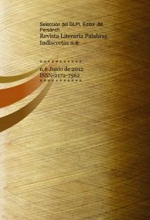 Revista Literaria Palabras Indiscretas n.6