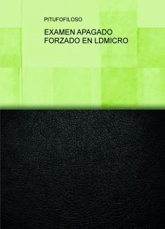 EXAMEN APAGADO FORZADO EN LDMICRO