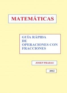 Guía rápida de operaciones con fracciones