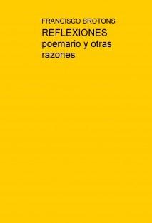 REFLEXIONES poemario y otras razones