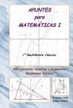 APUNTES para MATEMÁTICAS I  (1º Bachillerato Ciencias)