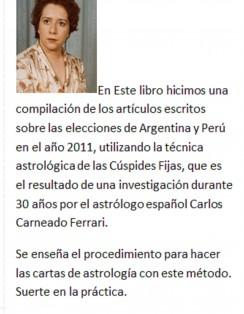 LAS ESTRELLAS ESCRIBEN LA HISTORIA DE ARGENTINA Y PERU