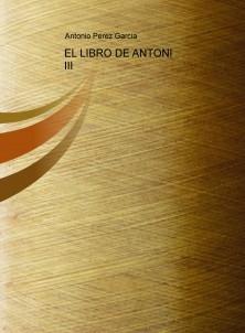EL LIBRO DE ANTONI IV