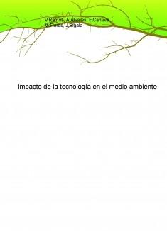 impacto de la tecnología en el medio ambiente