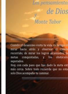 Los pensamientos de Dios y Monte Tabor
