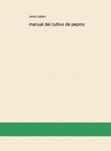 manual del cultivo de pepino
