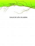 manual del cultivo de patatas