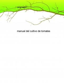 manual del cultivo de tomates