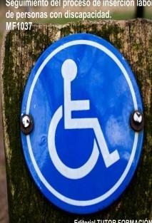Seguimiento del proceso de inserción sociolaboral de personas con discapacidad. MF1037