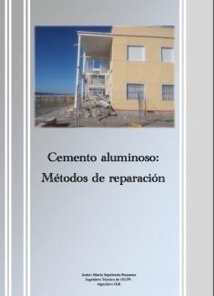 CEMENTO ALUMINOSO. MÉTODOS DE REPARACIÓN
