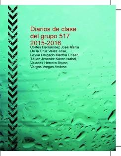 Diarios de clase del grupo 517 2015-2016