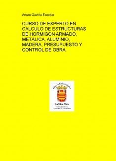 CURSO DE EXPERTO EN CALCULO DE ESTRUCTURAS DE HORMIGON ARMADO, METÁLICA, ALUMINIO, MADERA, PRESUPUESTO Y CONTROL DE OBRA