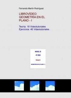 LIBROVÍDEO: GEOMETRÍA EN EL PLANO - I
