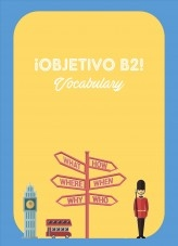 Libro ¡Objetivo B2! Vocabulary, autor Educadora27