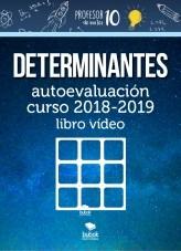 DETERMINANTES autoevaluación curso 2018-2019 libro vídeo