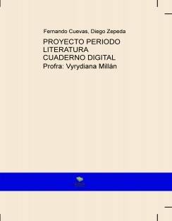 PROYECTO PERIODO LITERATURA CUADERNO DIGITAL