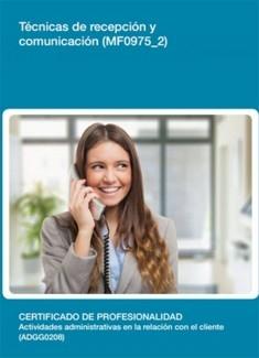 MF0975_2 - Técnicas de recepción y comunicación