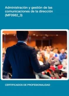 MF0982_3 - Administración y gestión de las comunicaciones de la dirección