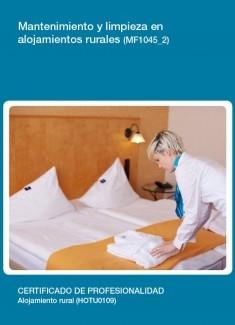 MF1045_2 - Mantenimiento y limpieza en alojamientos rurales
