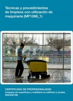 MF1088_1 - Técnicas y procedimientos de limpieza con utilización de maquinaria