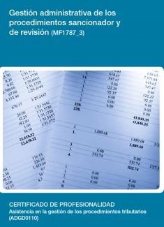 MF1787_3 - Gestión administrativa de los procedimientos sancionador y de revisión