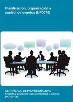 UF0075 - Planificación, organización y control de eventos