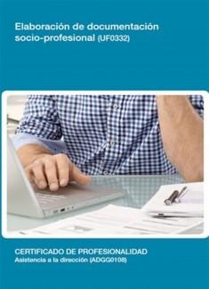 UF0332 - Elaboración de documentación socio-profesional