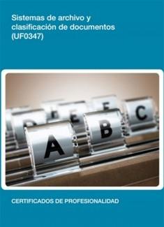 UF0347 - Sistemas de archivo y clasificación de documentos