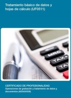 UF0511 - Tratamiento básico de datos y hojas de cálculo