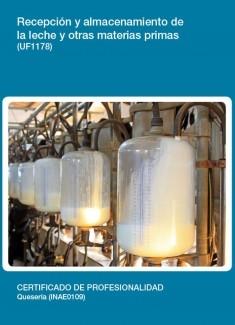 UF1178 - Recepción y almacenamiento de la leche y otras materias primas