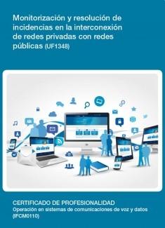 UF1348 - Monitorización y resolución de incidencias en la interconexión de redes privadas con redes públicas