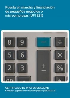 UF1821 - Puesta en marcha y financiación de pequeños negocios o microempresas