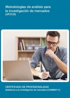 UF2125 - Metodologías de análisis para la investigación de mercados