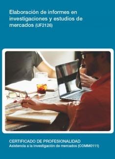 UF2126 - Elaboración de informes en investigaciones y estudios de mercados