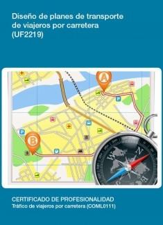 UF2219 - Diseño de planes de transporte de viajeros por carretera