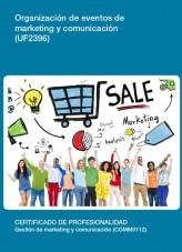 UF2396 - Organización de eventos de marketing y comunicación