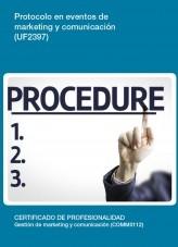 UF2397 - Protocolo en eventos de marketing y comunicación