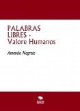 PALABRAS LIBRES - Valore Humanos
