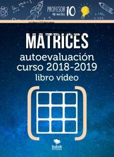 MATRICES Autoevaluación Libro vídeo curso 2019-2020