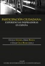 Libro Participación ciudadana:experiencias inspiradoras en España, autor EDITORIALCEPC