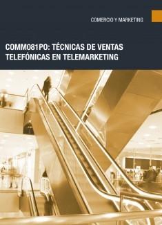 COMM081PO: Técnicas de ventas telefónicas en telemarketing